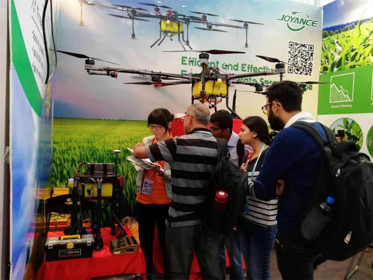 Joyance sprayer drones are very popular at 123rd Canton Fair