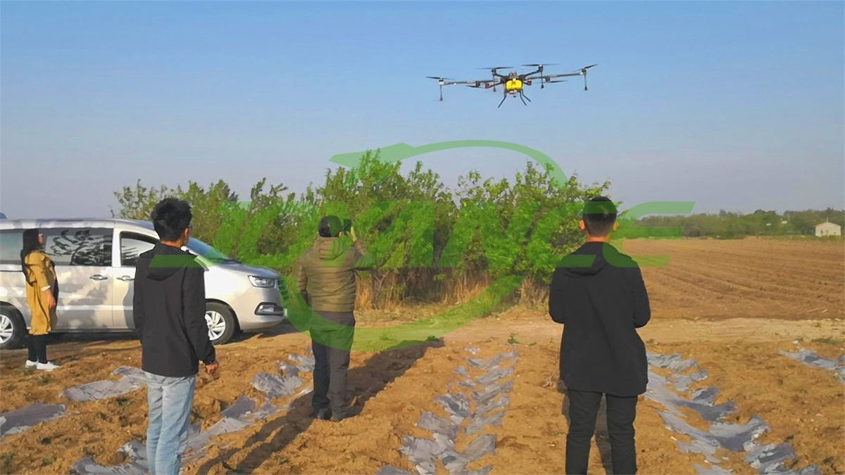 Chilean customers watch demos and order Joyance sprayer drones