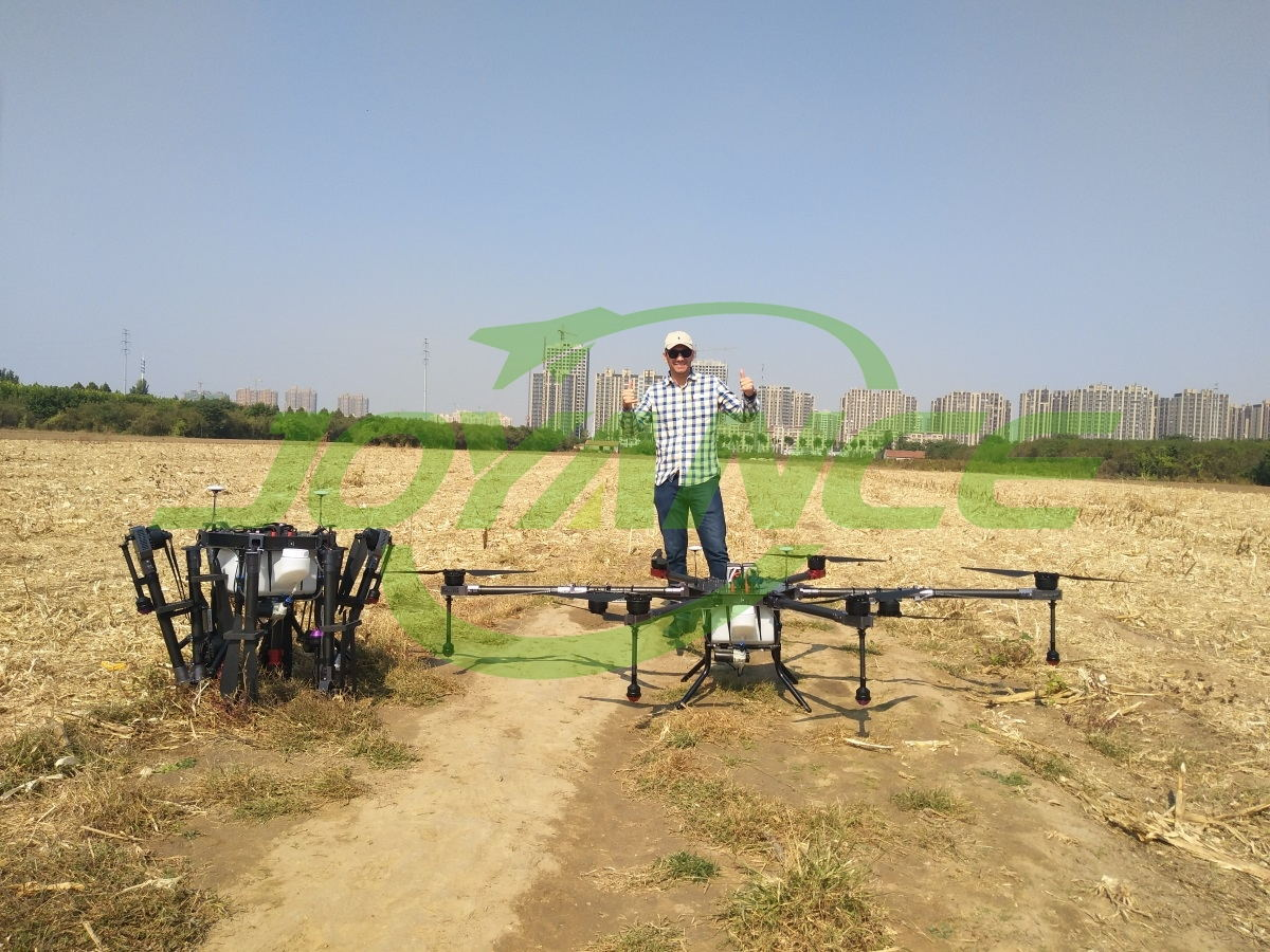 South American customer visits Joyance for sprayer drone training