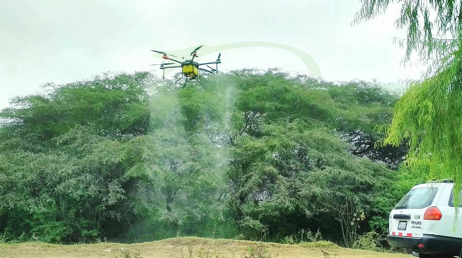 Perfect spraying effect picture taken by South American customers