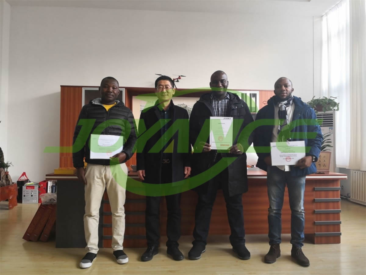 cooperate to explore African sprayer drone market