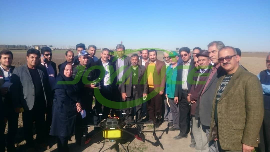 Middle East customers promote Joyance sprayer drones locally