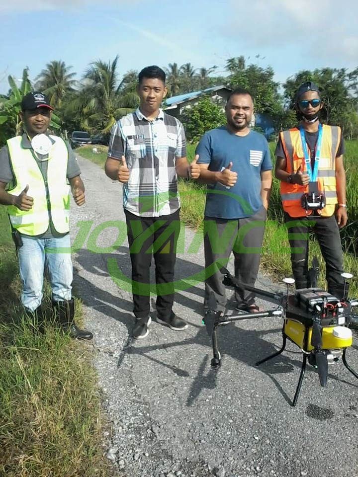 Spraying service are highly praised with Joyance drone
