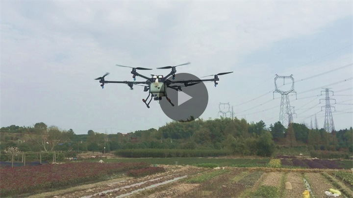 10L Pesticide Spraying UAV Working & Testing Video